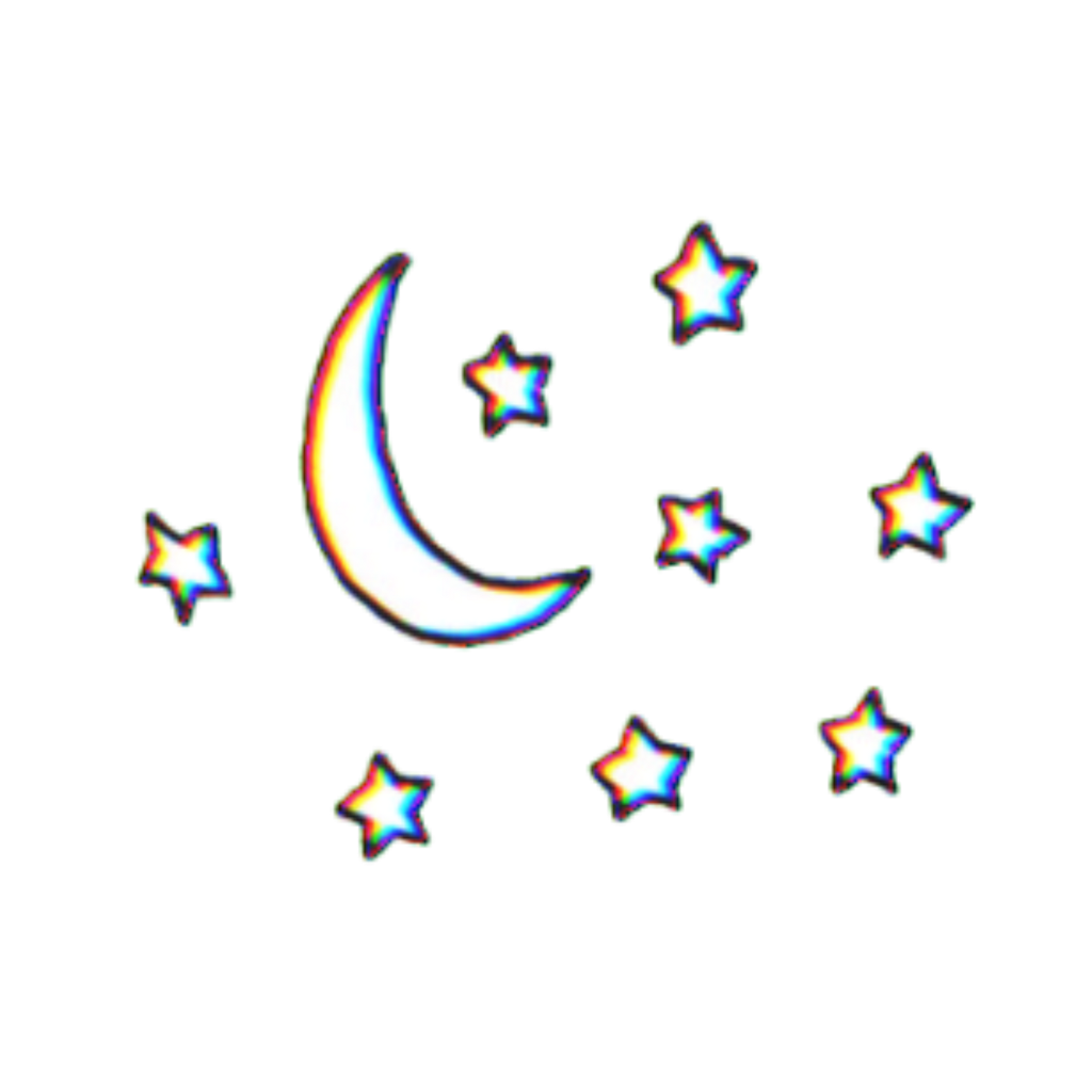 Tumblr clipart planet. Glitch planets stars aesthetic