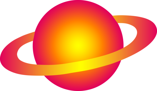 Planets clipart star. Free clip art of