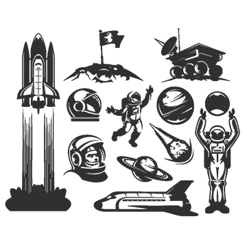 Saturn png images vectors. Vector planet library