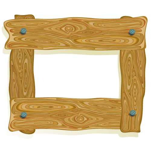 Plank clipart wooden frame. Planks wood border pencil