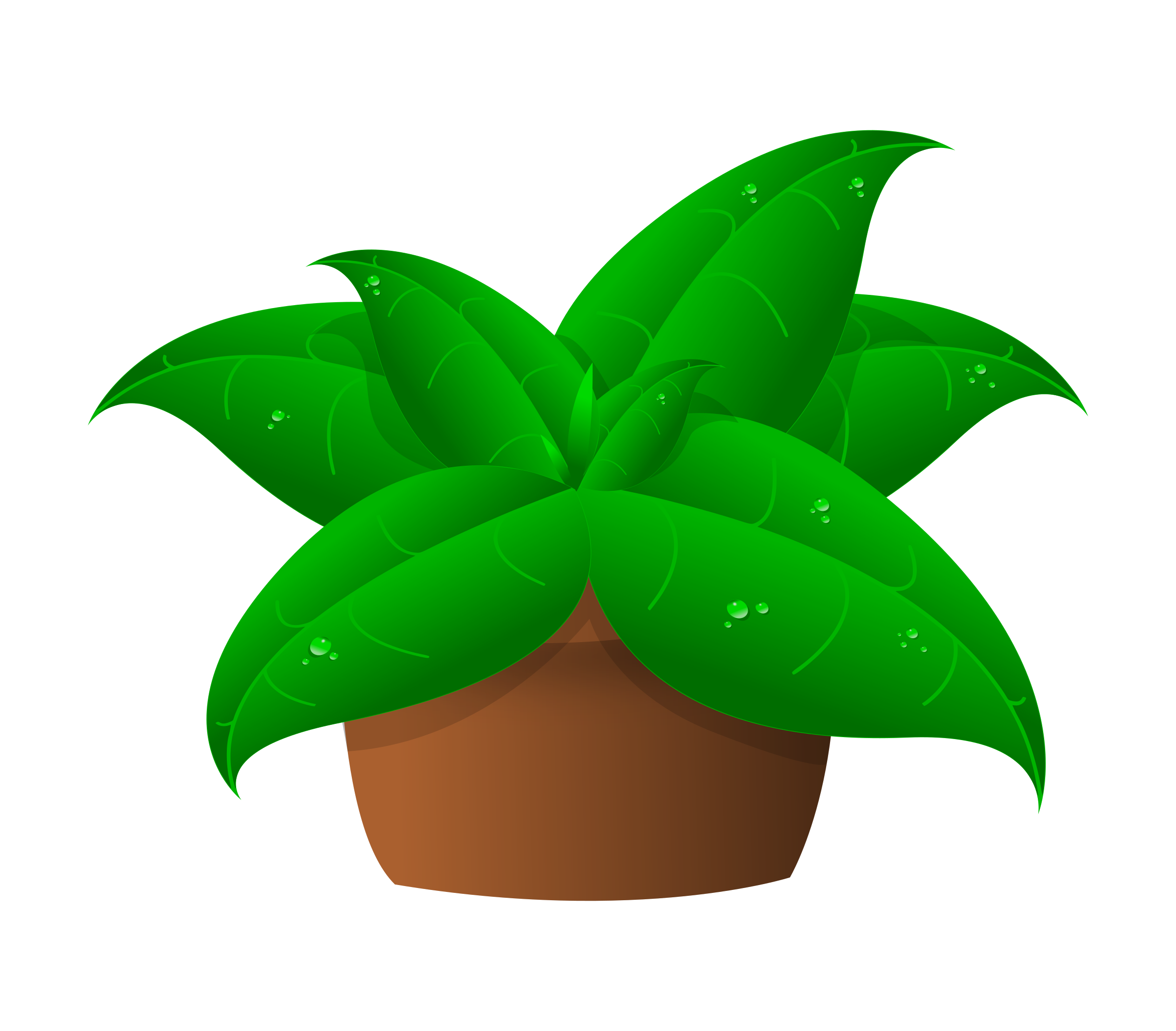 Plants clipart. Potted science plant of