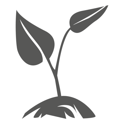 Plant vector png. Growing icon transparent svg