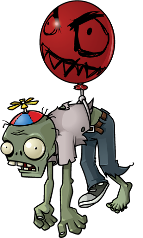 Plant vs zombies png. Zombie flying pinterest