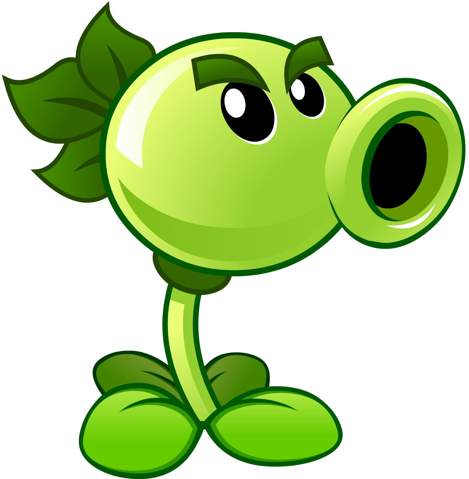 Plants vs zombies png. Image repeater hd wiki