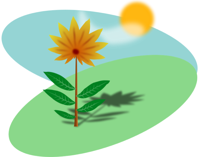 Planting clipart summer. Sun hot weather beach