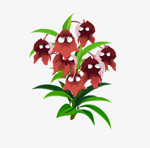 Plants clipart flower plant. Gray flowers png image