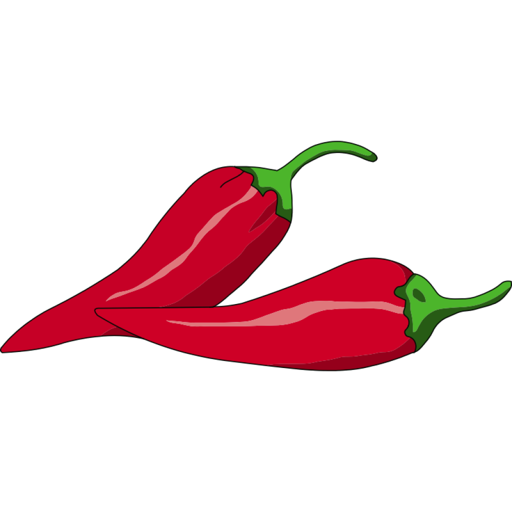 Plants clipart sweet pepper. Chili free download collection