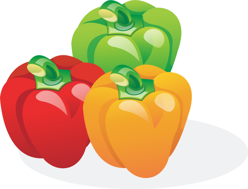 Plants clipart sweet pepper. Green bell chili vegetable