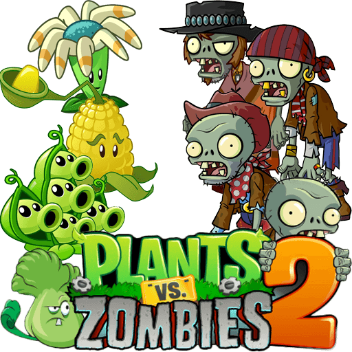 Plants vs zombies 2 logo png. For android download techspot