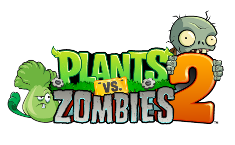 Plants vs zombies 2 logo png. Expected this fall we