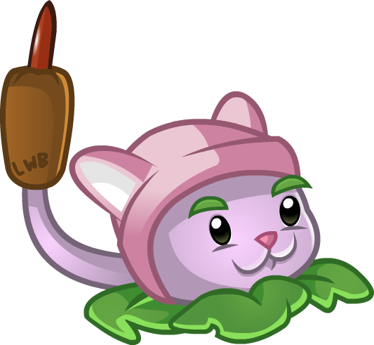 Plants vs zombies characters png. Cattail lwb s pvz