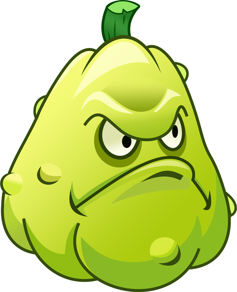 Plants vs zombies characters png. Image squash pvz character