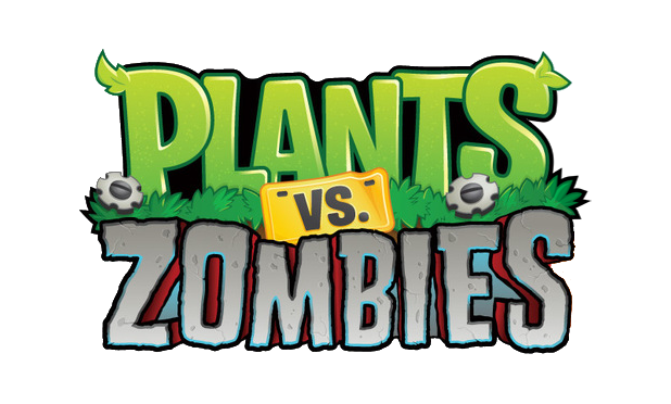 Plants vs zombies logo png. Image pvz without character