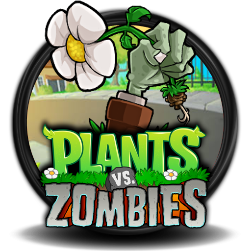 Plants vs zombies logo png. Image icon v by