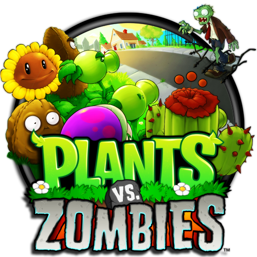 Plants vs zombies logo png. Dj fahr by on