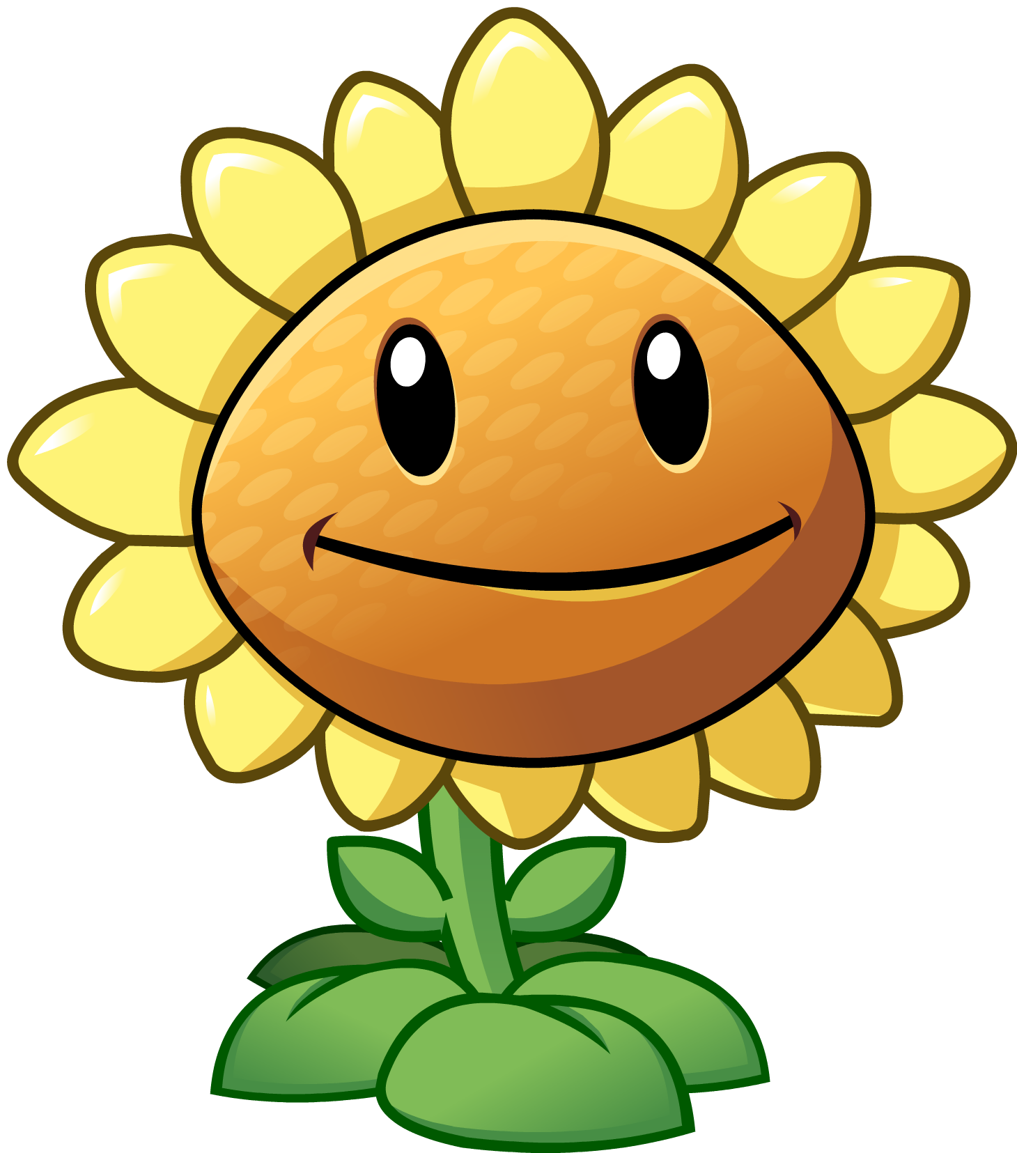 sunflower png pvz