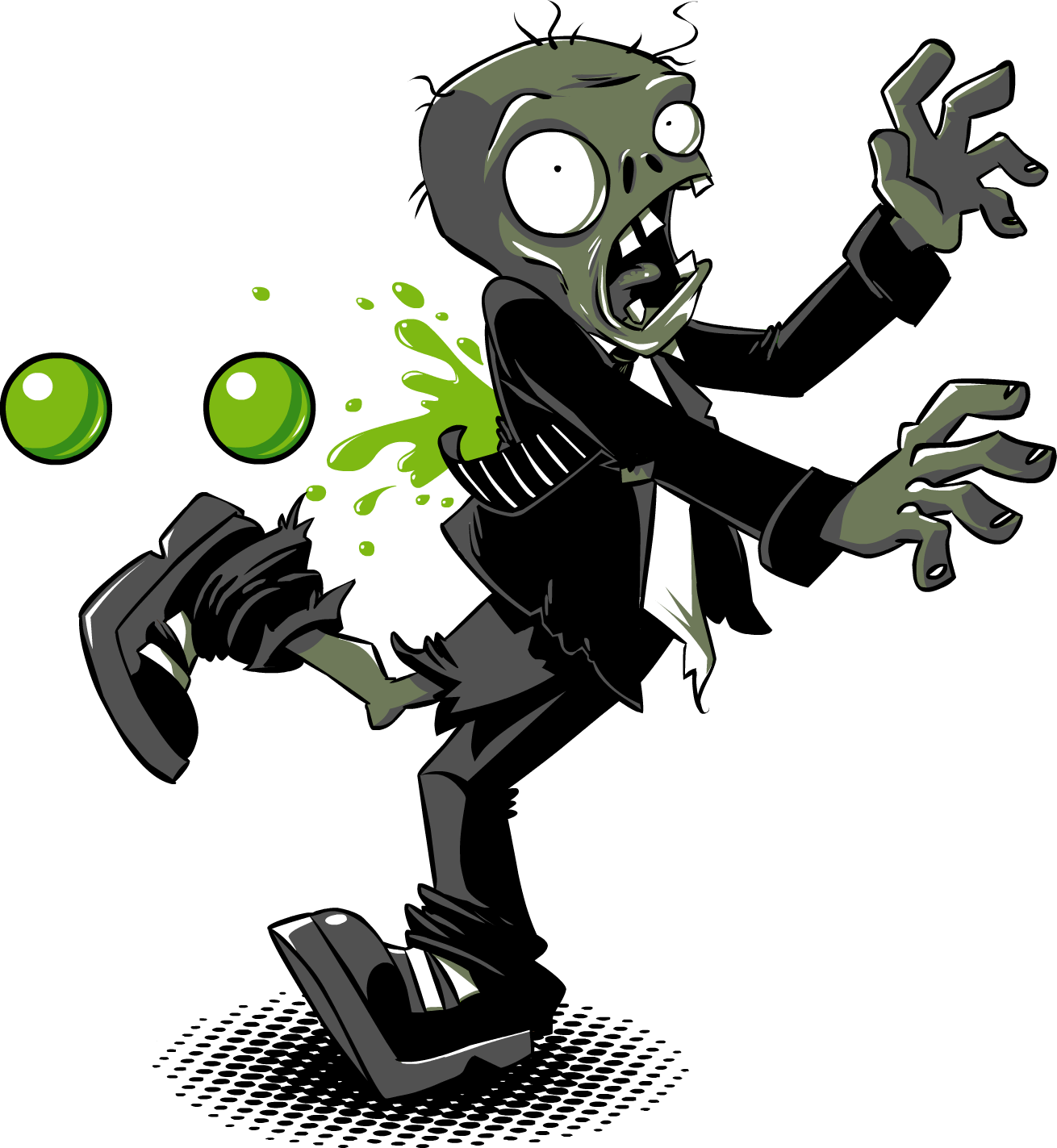 Plants vs zombies zombie png. Photo mart