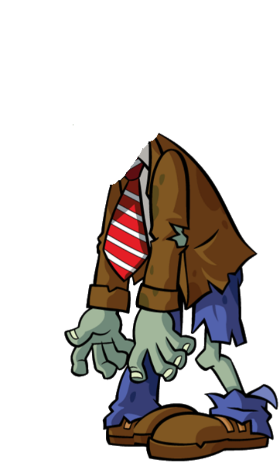 Plants vs zombies png. Image headless zombie roleplay