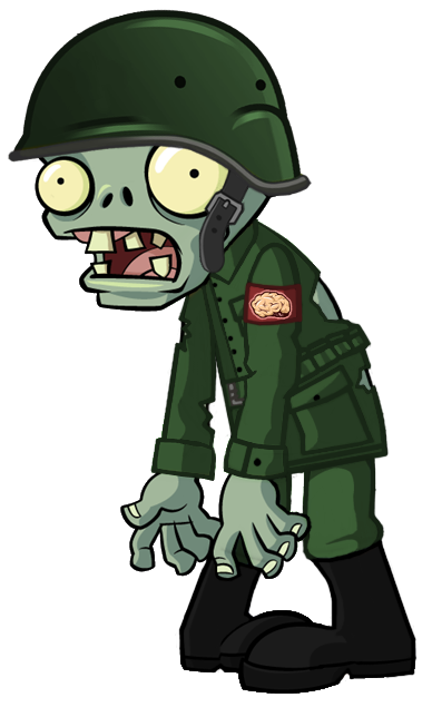 Plants vs zombies zombie characters png. Image military character creator
