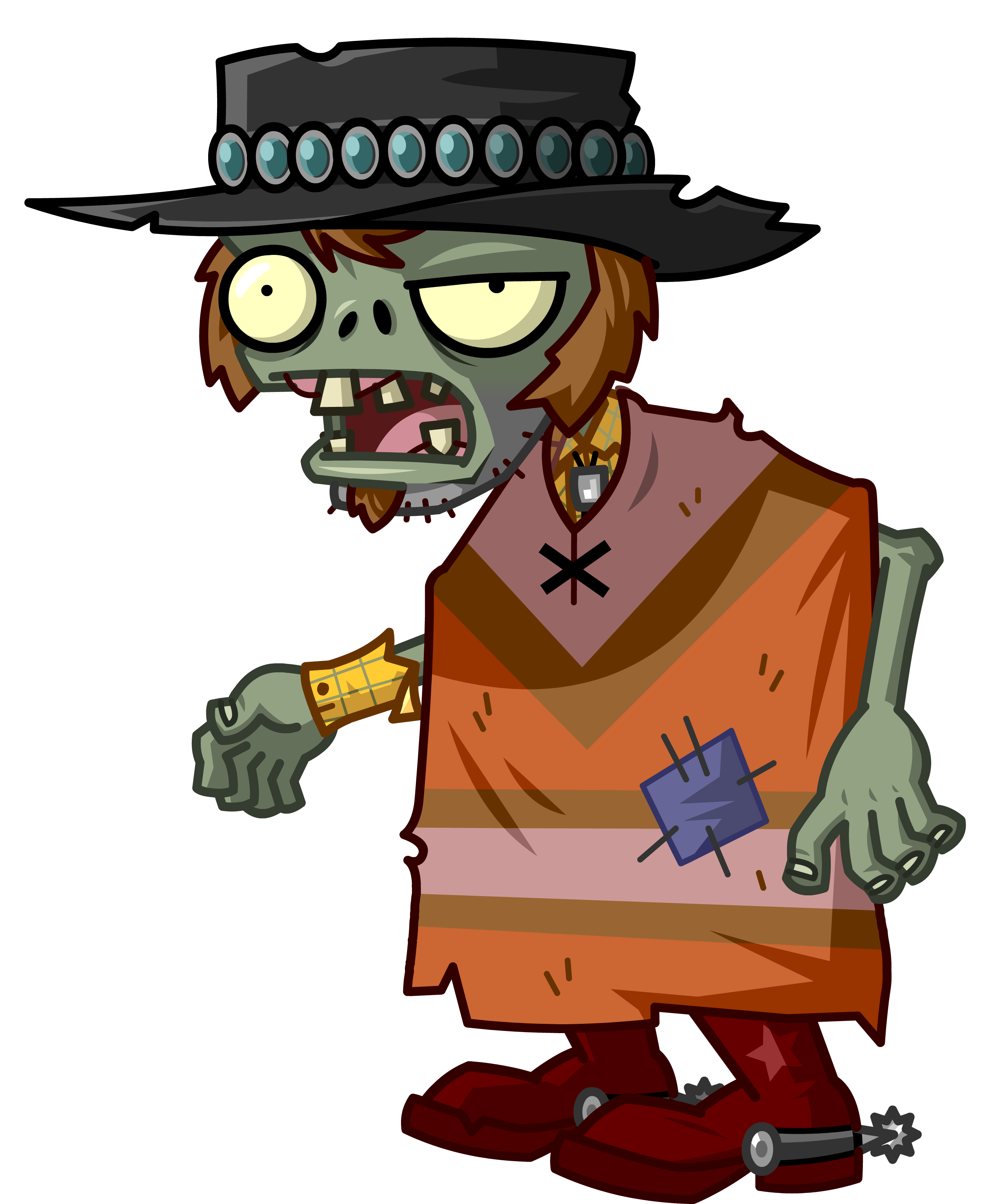 Plants vs zombies zombie png. It s about time