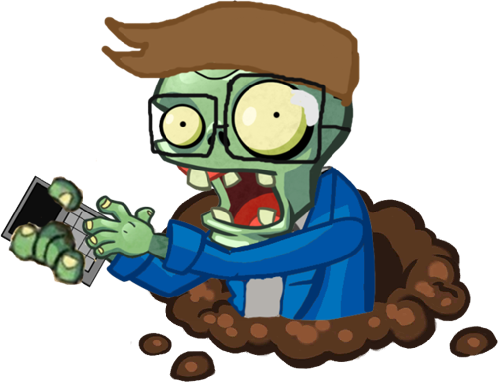 Plants vs zombies zombie png. Image hd calculator character