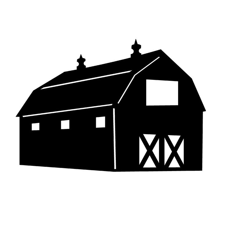 Plaque clipart barn wood. Best silhouettes images