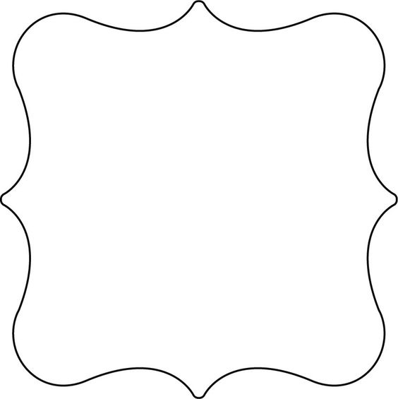Plaque clipart shape outline. Images of fancy