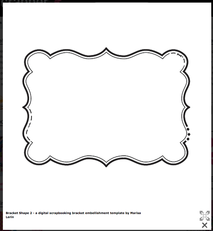 Plaque clipart shape outline. Bracket free templates cards