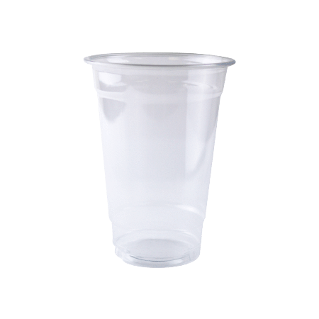 Cup transparent disposable. Apo customizable oz clear