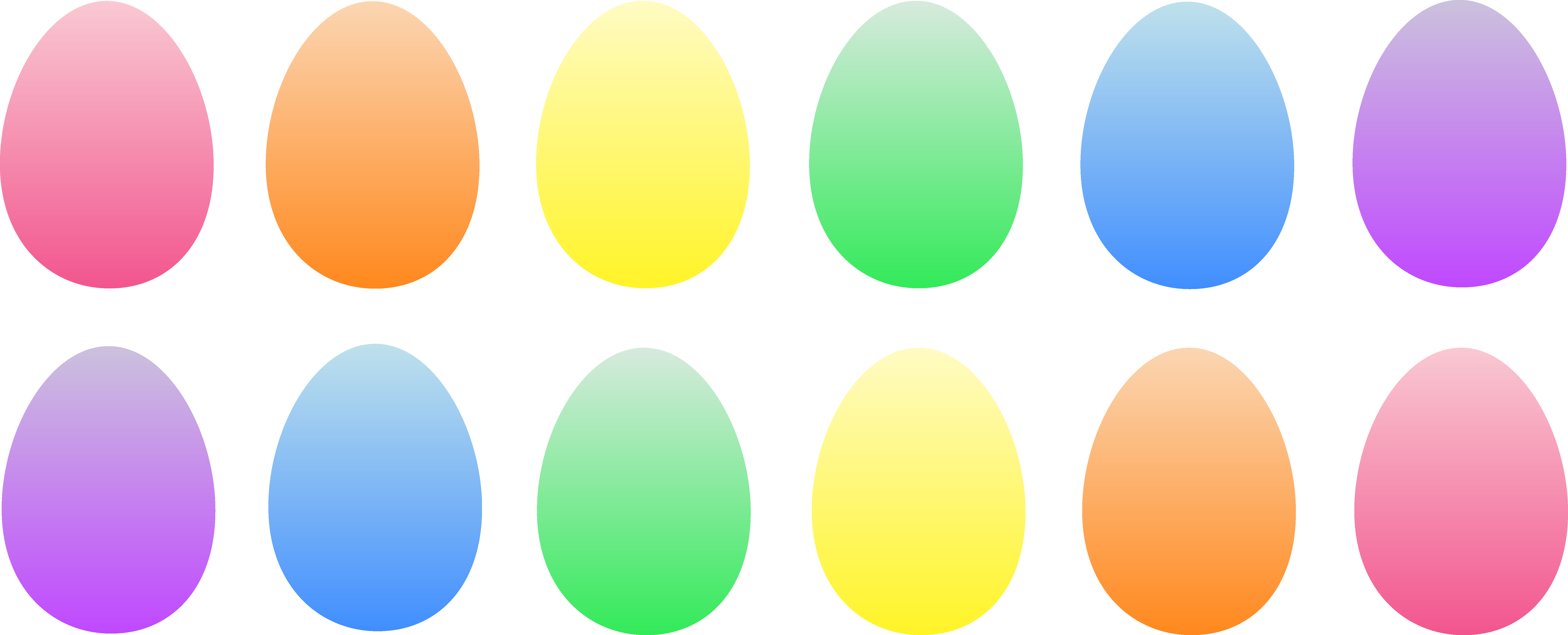 Plastic eggs png. A revolutionary new early