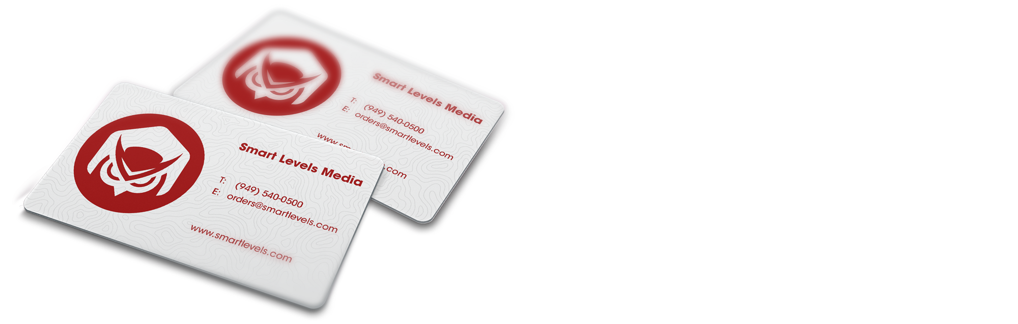 Plastic white business cards png. Card x smart levels