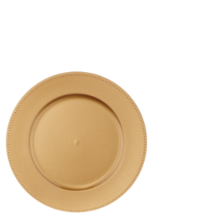 Plate clipart clean plate. Party gold charger