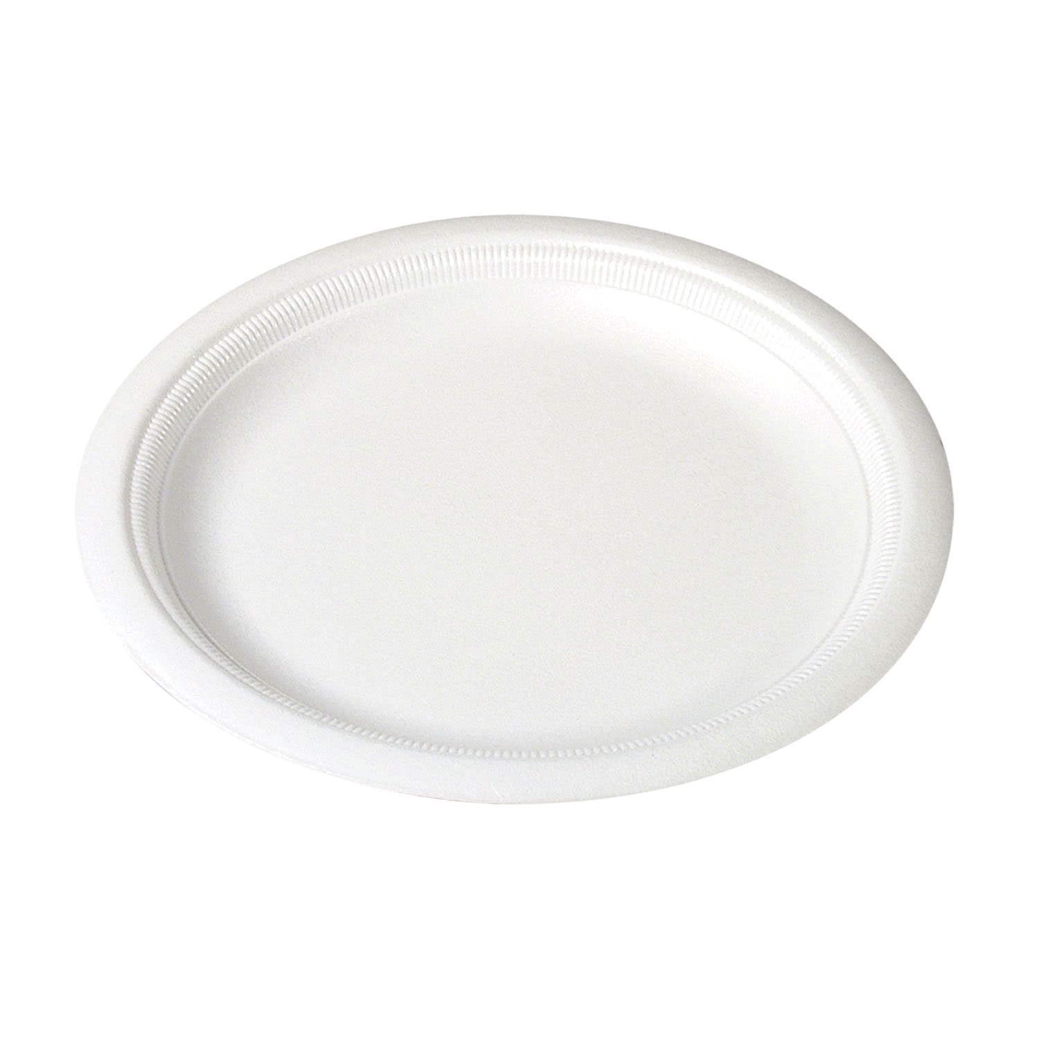 Plate clipart oval plate. White round party plates