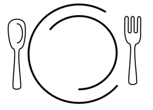 Plate clipart png. Empty