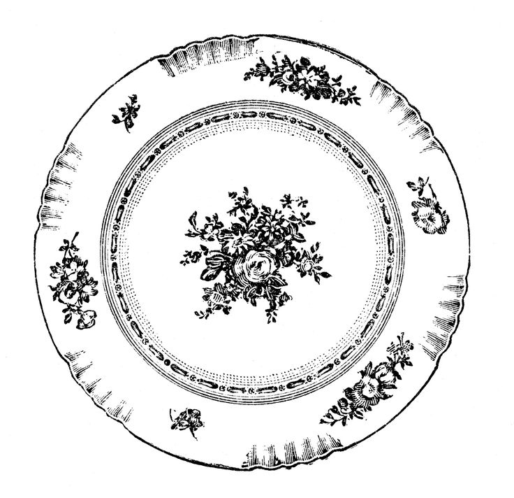 best images on. Plate clipart things picture freeuse library