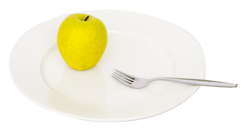 Plate fork png. Apple and on free