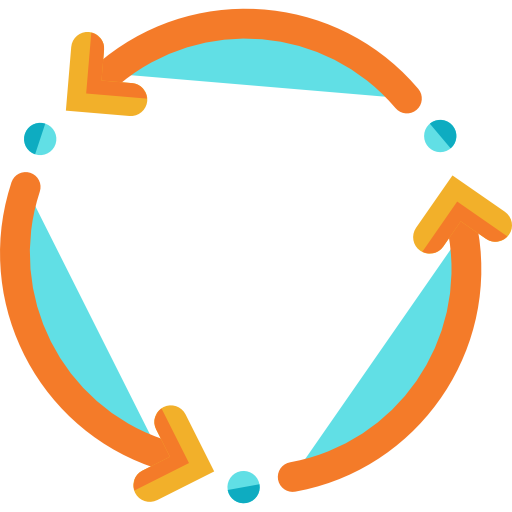 Spin vector psd. Icon png svg