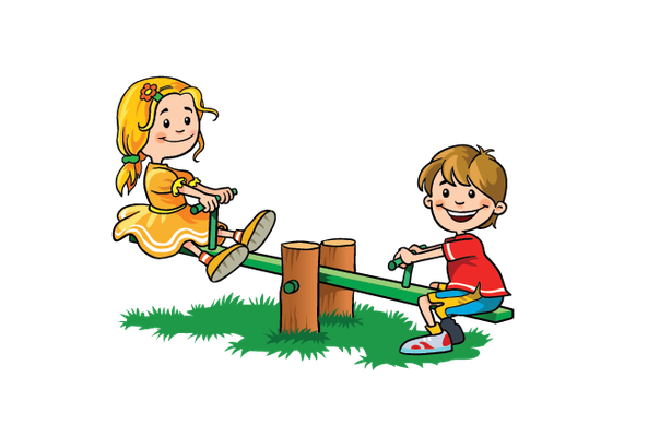 Play clipart. Children at the arts