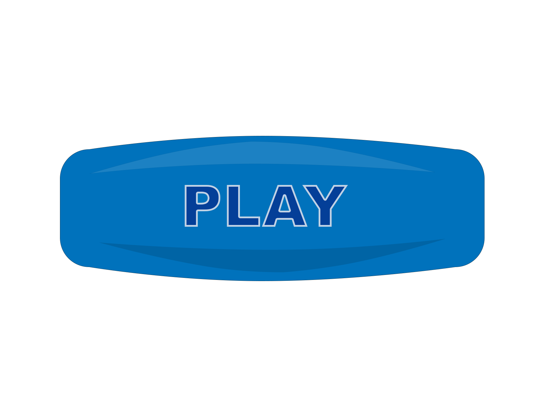 Game button png. Blue play free download