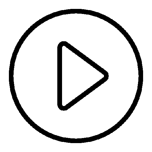 Play icon png white. Video free icons download
