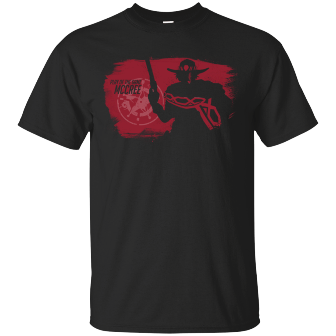 Play of the game png. Mccree t shirt pop