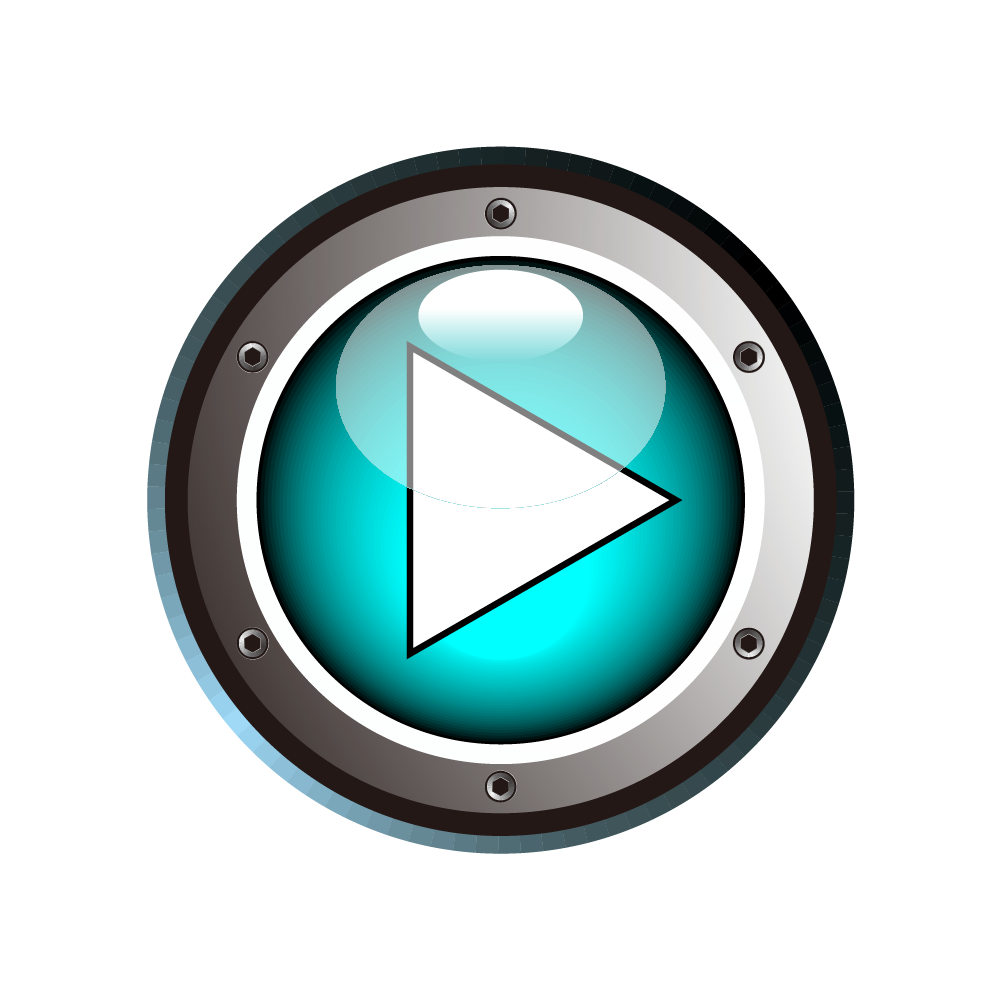 Play png button. Cartoon download blue