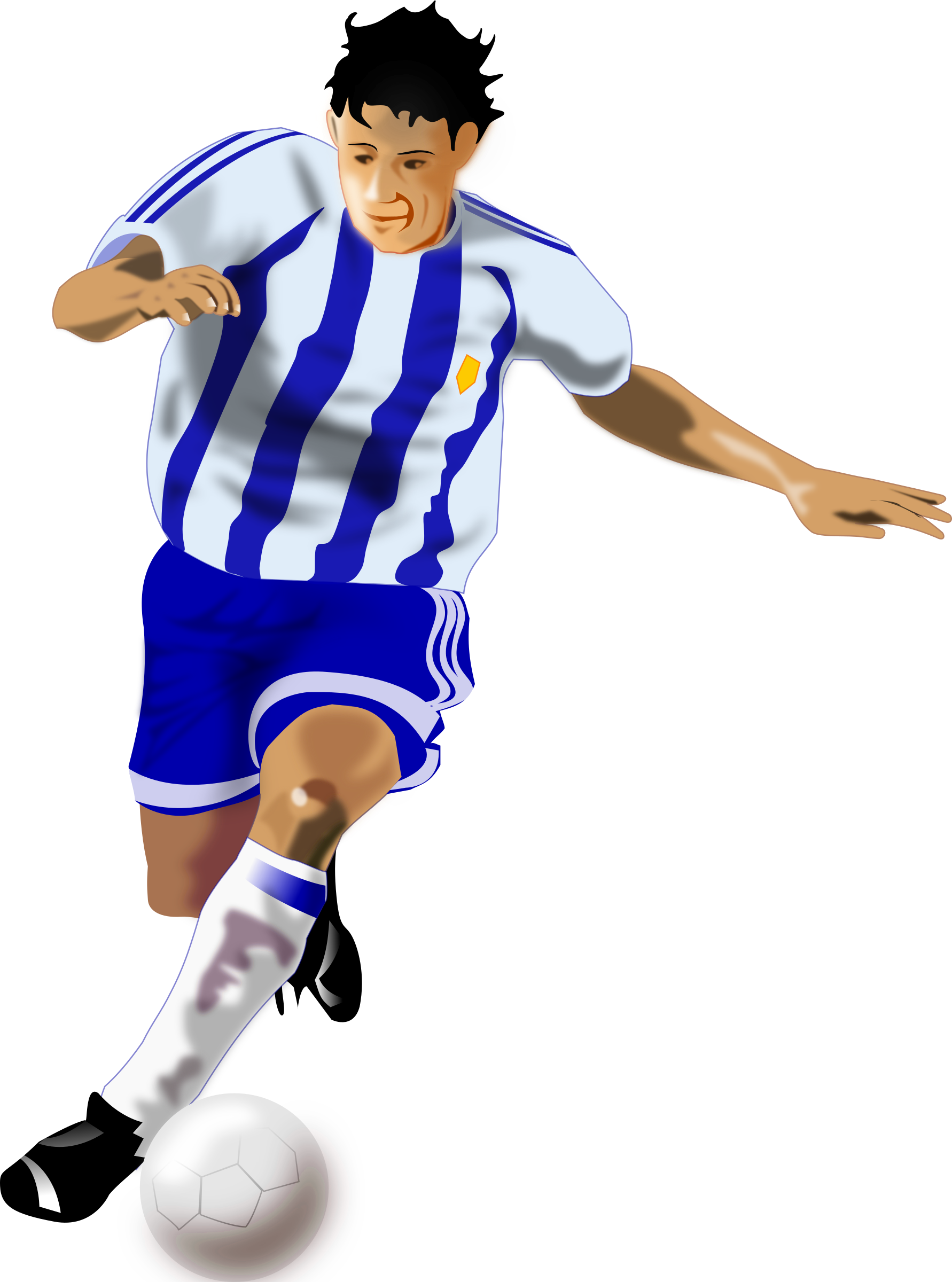 soccer player png