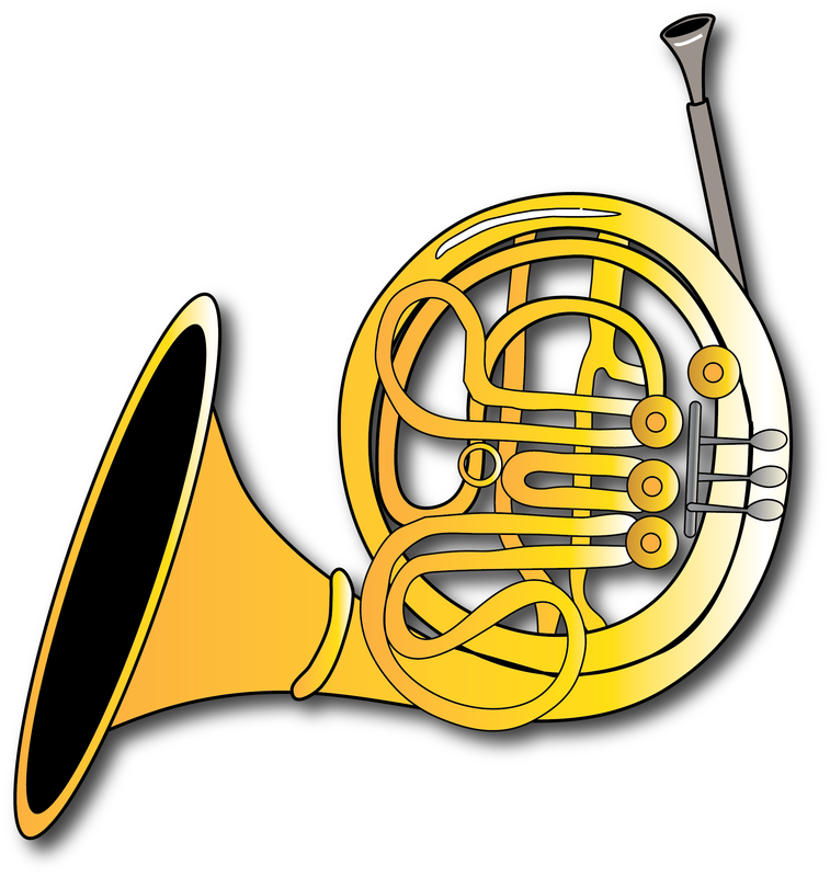 cliparts for free. Player clipart french horn player image stock