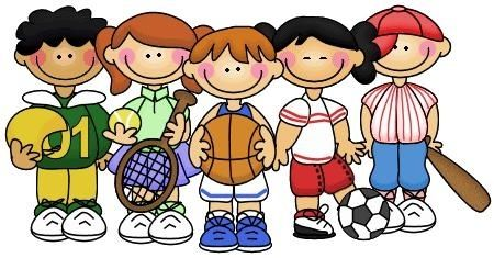 player clipart student sport