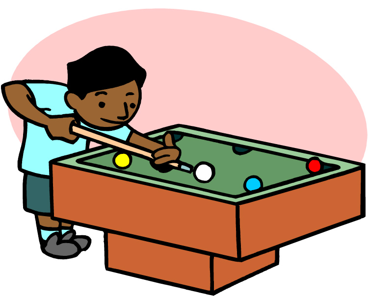 Player clipart swimming. Pool table clip art
