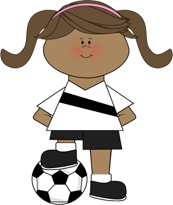 Player clipart youth soccer. Clip art images girl