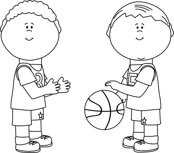 Players clipart black and white. Best crte i