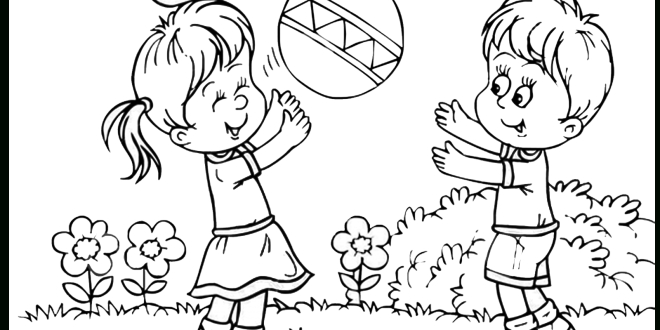 Players clipart black and white. Children playing letters sportekevents