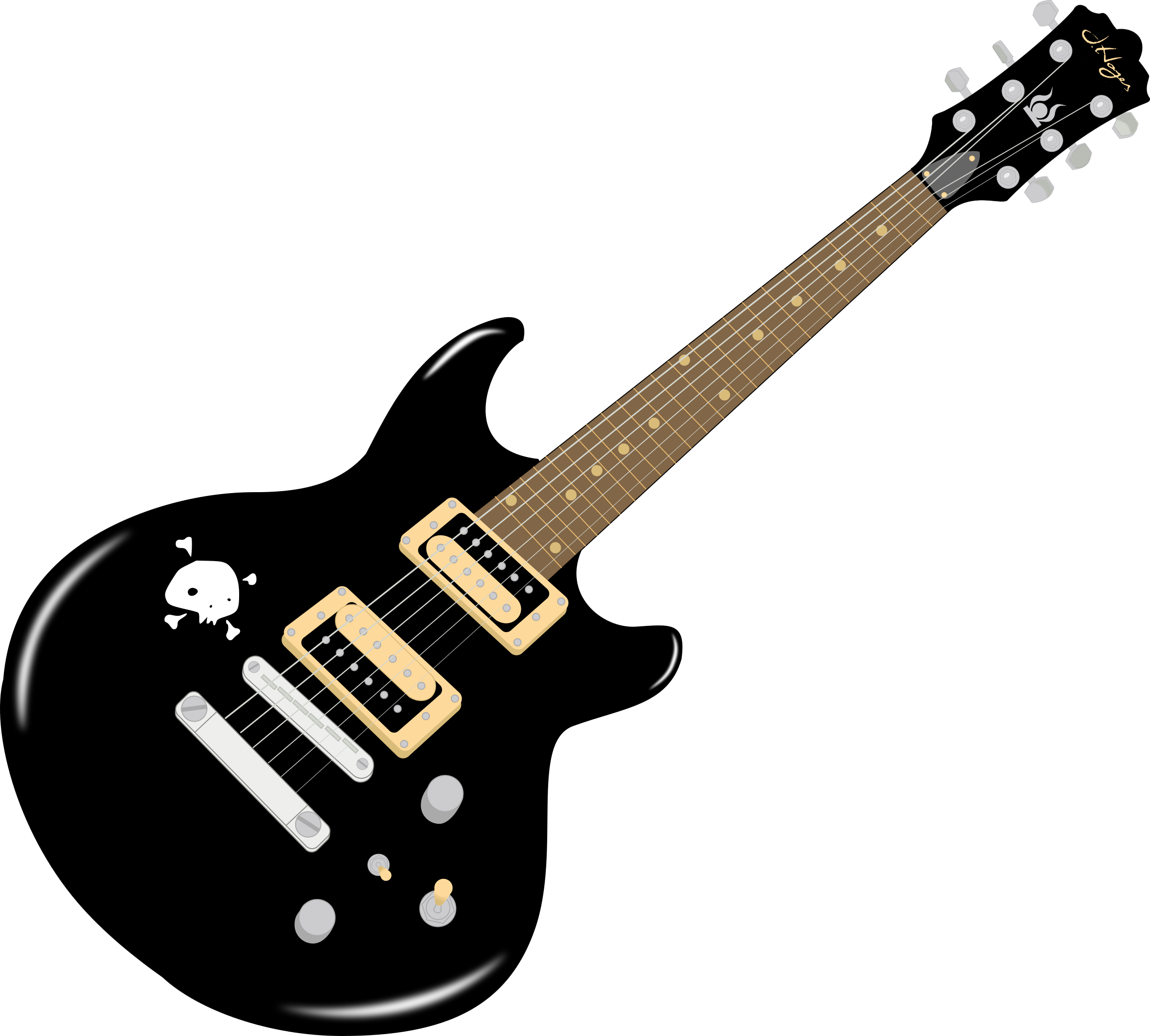 Players clipart electric guitar player.